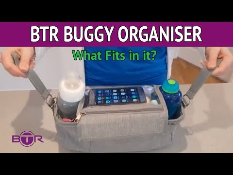 What Fits in the BTR Buggy Organiser ????