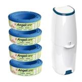 Angelcare Windeleimer Comfort+4er Nachfüllpack