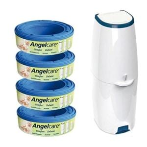 Angelcare Windeleimer für Senioren Comfort+4er Nachfüllpack