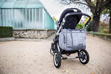 babymoov damen wickeltasche essential am kindewagen