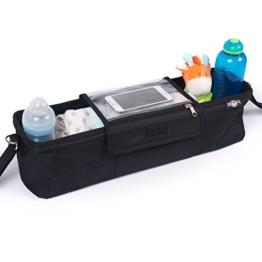 BTR Kinderwagen-Organiser / Tasche für Zwillilngskinderwagen