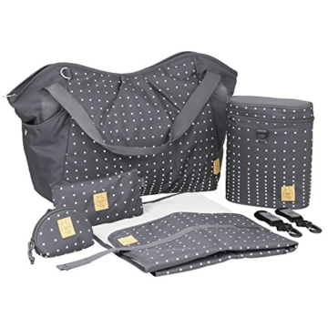 lässig casual zwillings-wickeltasche komplett