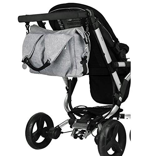 lässig wickeltasche lnb601 am Kinderwagen
