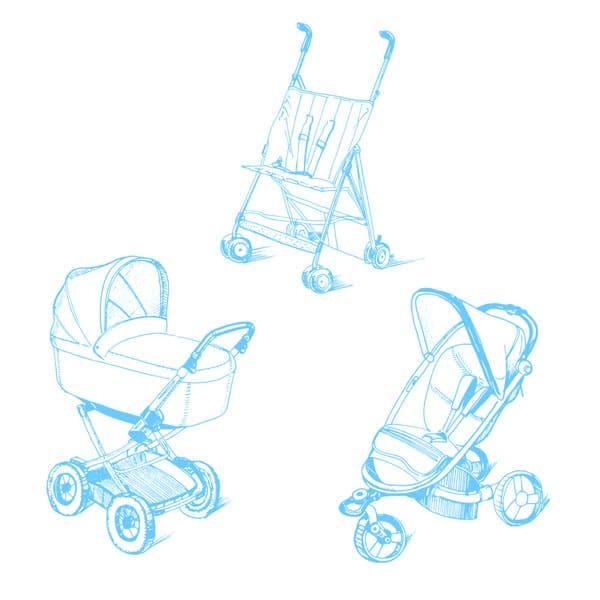 Kinderwagen oder Buggy?